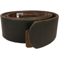 German leather belt for combat equipment