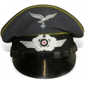 Luftwaffe visor hat for the lower ranks of flight personnel or paratroopers