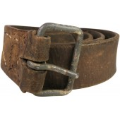 German waist belt captured by Red Army soldier. Frontline adaptation!