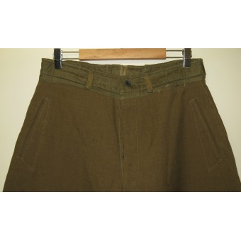 M 35 RKKA pants made from Canadian or American wool. Espenlaub militaria