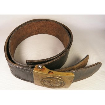 SA Belt with die-stamped buckle. Espenlaub militaria