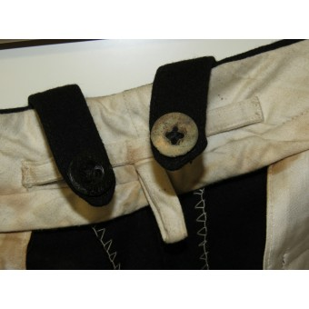 Wehrmacht armored troops trousers for officers. Private purchased. Espenlaub militaria