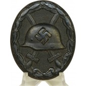 "3rd Reich wound badge in black,  3rd class, marked ""3"""