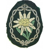 Edelweiss sleeve patch for Wehrmacht mountain troop units