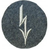 Luftwaffe tarde sleeve badge for signals