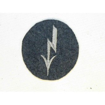 Luftwaffe tarde sleeve badge for signals. Espenlaub militaria