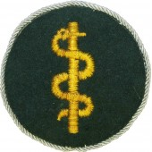 Wehrmacht corpsman sleeve patch for NCO's