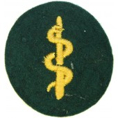 Wehrmacht paramedic's sleeve patch