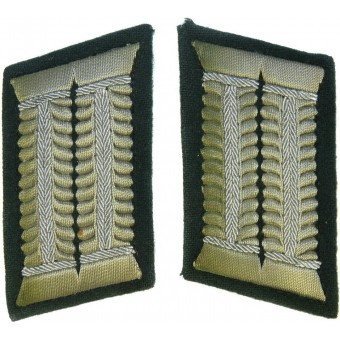 Fuhrers HQ or OKH collar tabs for officers in rank over Major. Espenlaub militaria