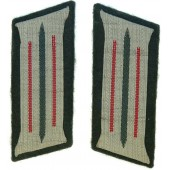Wehrmacht Heer artillery M35 collar tabs for tunic