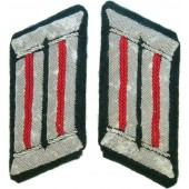 Wehrmacht mid war issue Artillery officer's collar patches