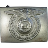 Waffen SS buckle, early type, tombac, rare variation.