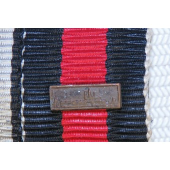 Ribbon bar. Hindenburg cross and Czech annexation medal with Prag bar. Espenlaub militaria
