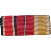 Ribbon bar: EK2  1939, Ostmedaille, Westwall Medaille