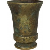German trench art goblet made from the 2cm FLAK casing