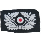 Panzer barret BeVo wreath insignia on the black base