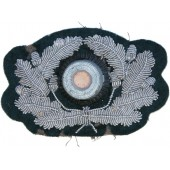 Wehrmacht heer, hand embroidered bullion wreath for the visor hat