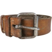 Early leather belt for enlisted personnel of RKKA