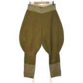 M 35 Soviet wool trousers made from Canadian WW1 cloth