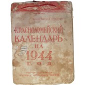 Red army calender, 1944 year.