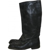 Soviet Russia leather long boots, pre-war. Size 27