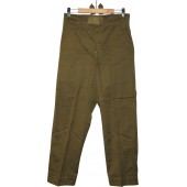 Wehrmacht Heer DAK straight trousers, mint