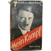Adolf Hitler- Mein Kampf. Original issue, 721-725 Auflage from 1942