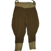 Canadian/US lend lease wool made soviet combat breeches M35
