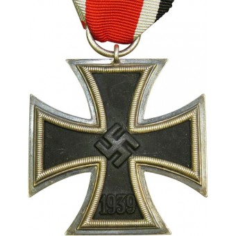 Iron cross 2nd class 1939 by Klein & Quenzer, Idar Oberstein, 65. Espenlaub militaria