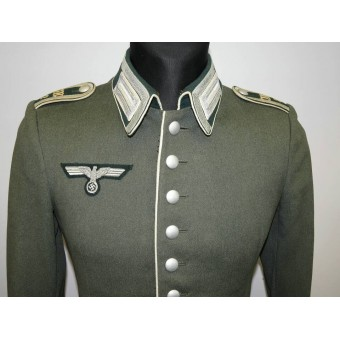 Machinegun Battalion 2/MG Btl 2 Waffenrock, pre-WW2 private purchased tunic. Espenlaub militaria