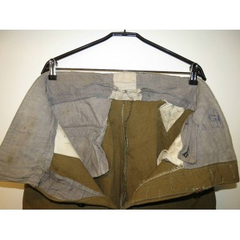 RKKA combat breeches M 35 made from Canadian WW1 wool.