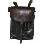 SS-TV, SS Totenkopfverbande leather mapcase.