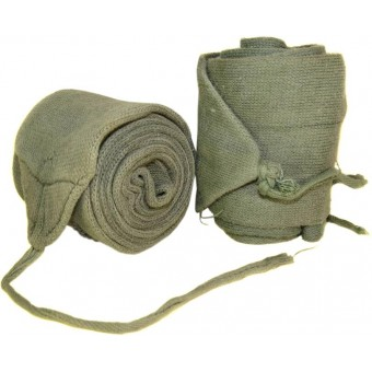 WW2 period cotton putties. Espenlaub militaria