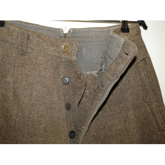 WW2 period partisan trousers. Espenlaub militaria