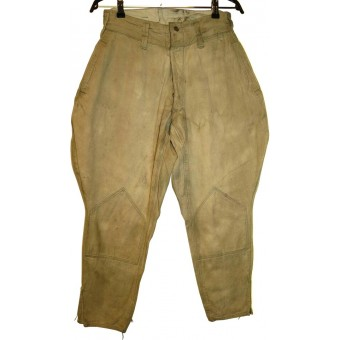 WW2 soviet Russian breeches, cotton, dated 1944!. Espenlaub militaria