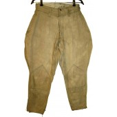 WW2 soviet Russian breeches, cotton, dated 1944!