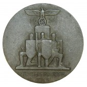 1936 NSDAP Reichsparteitag - Reichs Party Day Badge by Gustav Brehmer