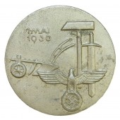 3rd Reich International Labour day 1 Mai 1936 year badge