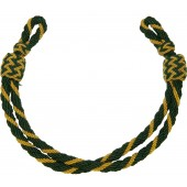 3rd Reich war time Justizbeamte/ Justice official's  visor cap's yellow/green chin cord,