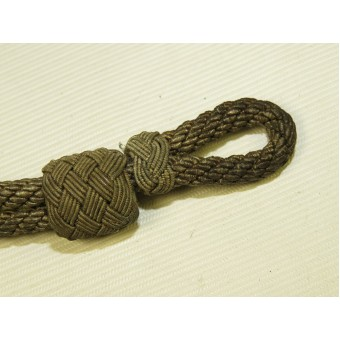 Chin cord for officers visor hat for Wehrmacht, Waffen SS or Luftwaffe. Espenlaub militaria