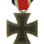 Christian Lauer Iron cross 1939, unmarked. Second class