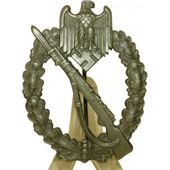 WW2 Infantry assault badge, zinc. Espenlaub militaria