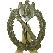 WW2 Infantry assault badge, zinc