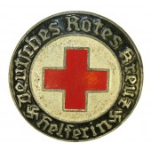 DRK Deutsches Rotes Kreuz Badge for Helferin