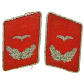 Luftwaffe Flakartillerie, Anti aircraft collar tabs for Lieutenant.