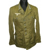 Wehrmacht Heer, DAK M 42 tunic in mint condition, never issued. Rb Nr marked