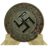 NSDAP member badge, zinc, painted, RZM m1/159