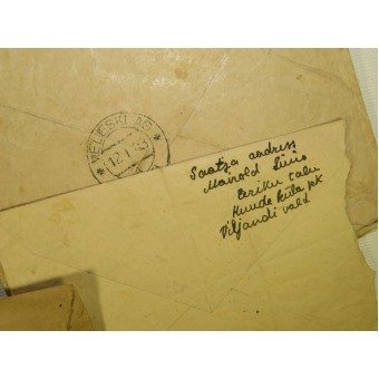 Set of 8 envelopes 1941-45 year, issued in Estonia during Soviet and German occupation. Espenlaub militaria