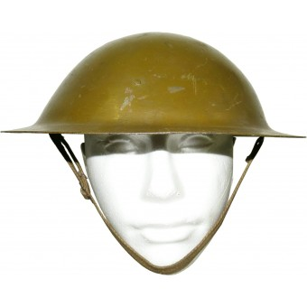 Soviet 1941 model blockaded Leningrad issue steel helmet. Espenlaub militaria