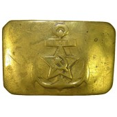 Soviet Navy pre war brass buckle